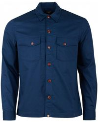 Pretty Green - Military Shirt - Lyst
