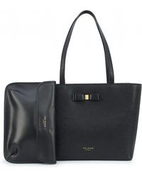 Ted Baker - Core Bow Shopper Bag - Lyst