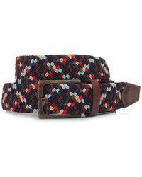 Barbour - Ford Multi Coloured Web Belt - Lyst