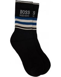 BOSS by Hugo Boss - Qs Rib Stripe Sport Socks - Lyst