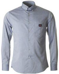 Paul And Shark - Long Sleeved Button Down Shirt - Lyst