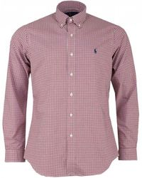 Polo Ralph Lauren - Custom Fit Gingham Checked Shirt - Lyst