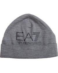 EA7 Train Visibility Beanie - Grey