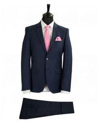 BOSS by Hugo Boss Arti Extra Slim Fit Suit - Blue