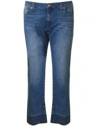 Michael Kors Raw Edge Jeans - Blue