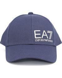 EA7 Train Core Id Cap - Blue
