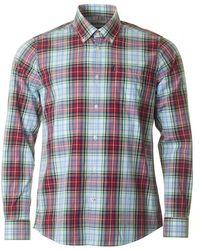 Barbour - Jeff Long Sleeved Tartan Shirt - Lyst