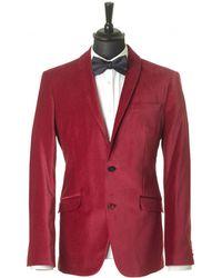 Claudio Lugli - 2 Button Velvet Jacket - Lyst