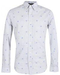 Denham - Anchor Stripe Shirt - Lyst