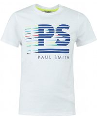 Paul Smith - Chad Ps Logo Front Crew Neck - Lyst