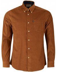 Barbour - Stapleton Morris Cord Shirt - Lyst