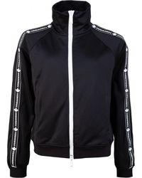 DSquared² Taped Logo Zip Through Jacket - Black
