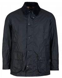 Barbour Lightweight Ashby Wax Jacket - Blue
