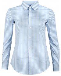 d491a7d207 Polo Ralph Lauren Big Fit Tie-dye Shirt in White - Lyst