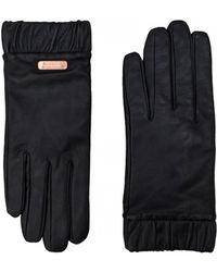 Barbour - Latch Leather Gloves - Lyst