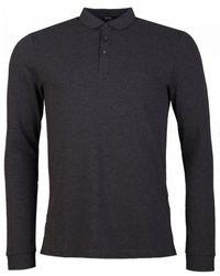 BOSS by Hugo Boss Pado 10 Long Sleeved Pique Polo Shirt - Multicolour