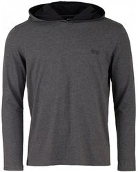 BOSS by Hugo Boss - Mix And Match Hooded Sweat - Lyst