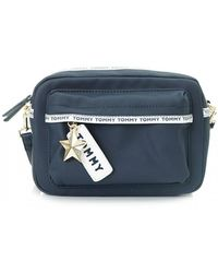 Tommy Hilfiger - Logo Tape Crossbody Bag - Lyst
