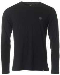 Pretty Green - Mitchell Long Sleeved Crew Neck - Lyst