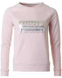 Barbour - Bearings Logo Sweatshirt - Lyst