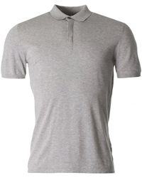 J.Lindeberg - Mikael Cotton Crepe Knit Polo - Lyst