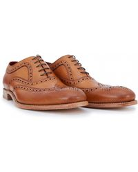 Loake - Fearnley Goodyear Welted Brogues - Lyst