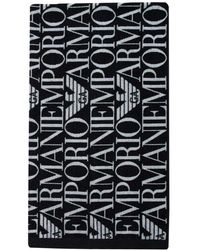 Emporio Armani All Over Emporio Towel