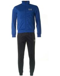 EA7 - Train Core Id Poly Tracksuit - Lyst