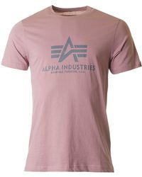 Alpha Industries - Basic Crew Neck - Lyst