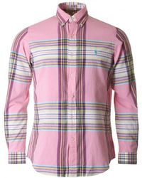 Polo Ralph Lauren - Brushed Cotton Checked Shirt - Lyst