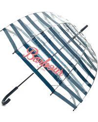 Barbour | Striped Bubble Umbrella | Lyst