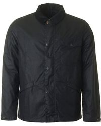 Barbour Mud Waxed Jacket - Blue