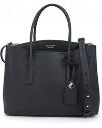 Kate Spade Margaux Soft Leather Large Bag - Black