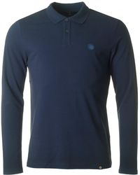 Pretty Green - Hartford Long Sleeved Polo - Lyst