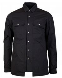 Rick Owens Drkshdw Cargo Outer Shirt - Black