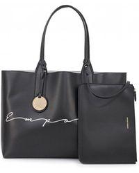 Emporio Armani - Frida Eco Leather Reversible Bag - Lyst 0f7dff84ef9f4