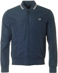 Fred Perry - Twin Tipped Bomber Jacket - Lyst