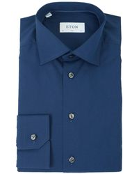 Eton of Sweden - Slim Fit Cotton Shirt - Lyst