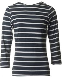 A Postcard From Brighton - Brighton Striped Top - Lyst
