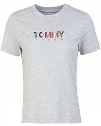 Tommy Hilfiger - Multicolour Logo T-shirt - Lyst