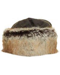 Barbour - Ambush Faux Fur Hat - Lyst