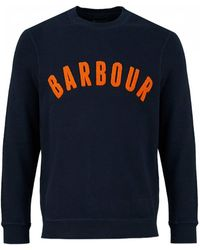 Barbour - Prep Logo Crew Sweat - Lyst