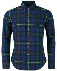 Polo Ralph Lauren - Large Multi Check Slim Fit Shirt - Lyst