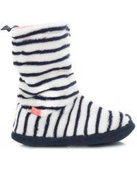 Joules - Supersoft Fluffy Slipper Socks - Lyst