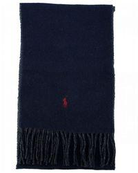 Polo Ralph Lauren Reversible Scarf - Blue