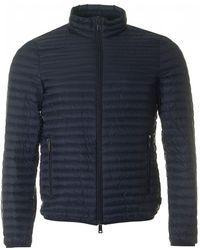 Armani - Lightweight Down Zip Through Jacket - Lyst
