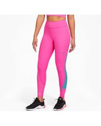 PUMA X First Mile Xtreme 7/8 Training Leggings - Pink