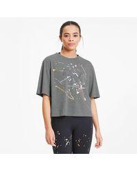 PUMA Metal Splash Graphic Trainingsshirt - Grijs
