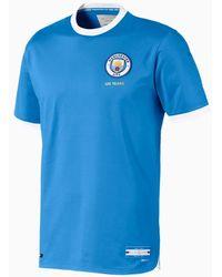 PUMA Manchester City 125 Year Anniversary Authentic Trikot - Weiß