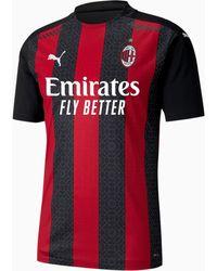 PUMA Ac Milan Home Authentic Herenshirt - Zwart